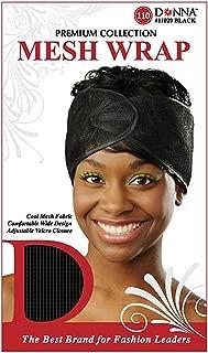 Donna Collection Mesh Wrap, Black