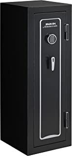 Stack-On A-18-MB-E-S Armorguard 18-Gun Safe with Electronic Lock, Black
