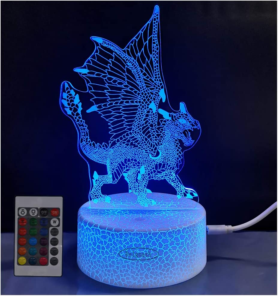 Ranking TOP13 Delgoash Dragon Sales of SALE items from new works Night Light 3 Animal Kids for