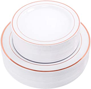 WDF Disposable Plastic Plates,30-10.25