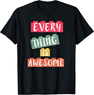Best everything is awesome mens shirt Reviews