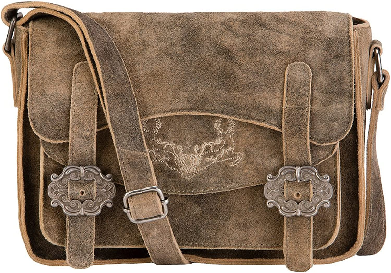 Stockerpoint T5000 Hanf, Women's CrossBody Bag, brown (Hanf), 6x18x23 cm (wxhxd)