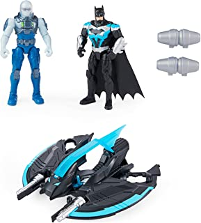 DC Comics 6063041 Bat-Tech Flyer with 4-inch Exclusive Mr. Freeze and Batman Action Figures, Kids Toys for Boys Ages 3 and...