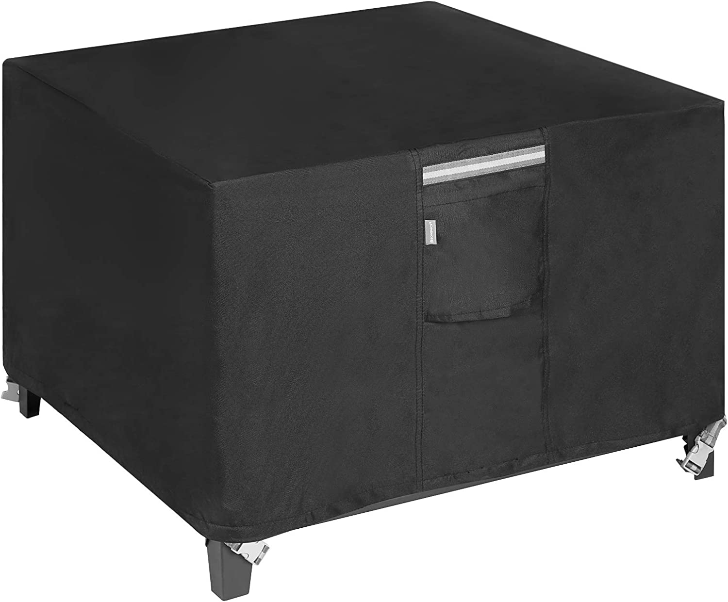 Quality inspection SONGMICS Fire Pit Cover 600D Oxford Fabric Max 82% OFF Tabl Square