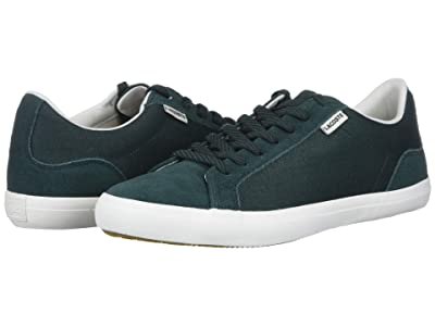 Lacoste Lerond 220 5 (Dark Green/Off-White) Men