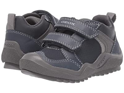 Geox Kids Jr Artach 2 (Toddler) (Navy/Grey) Boys Shoes