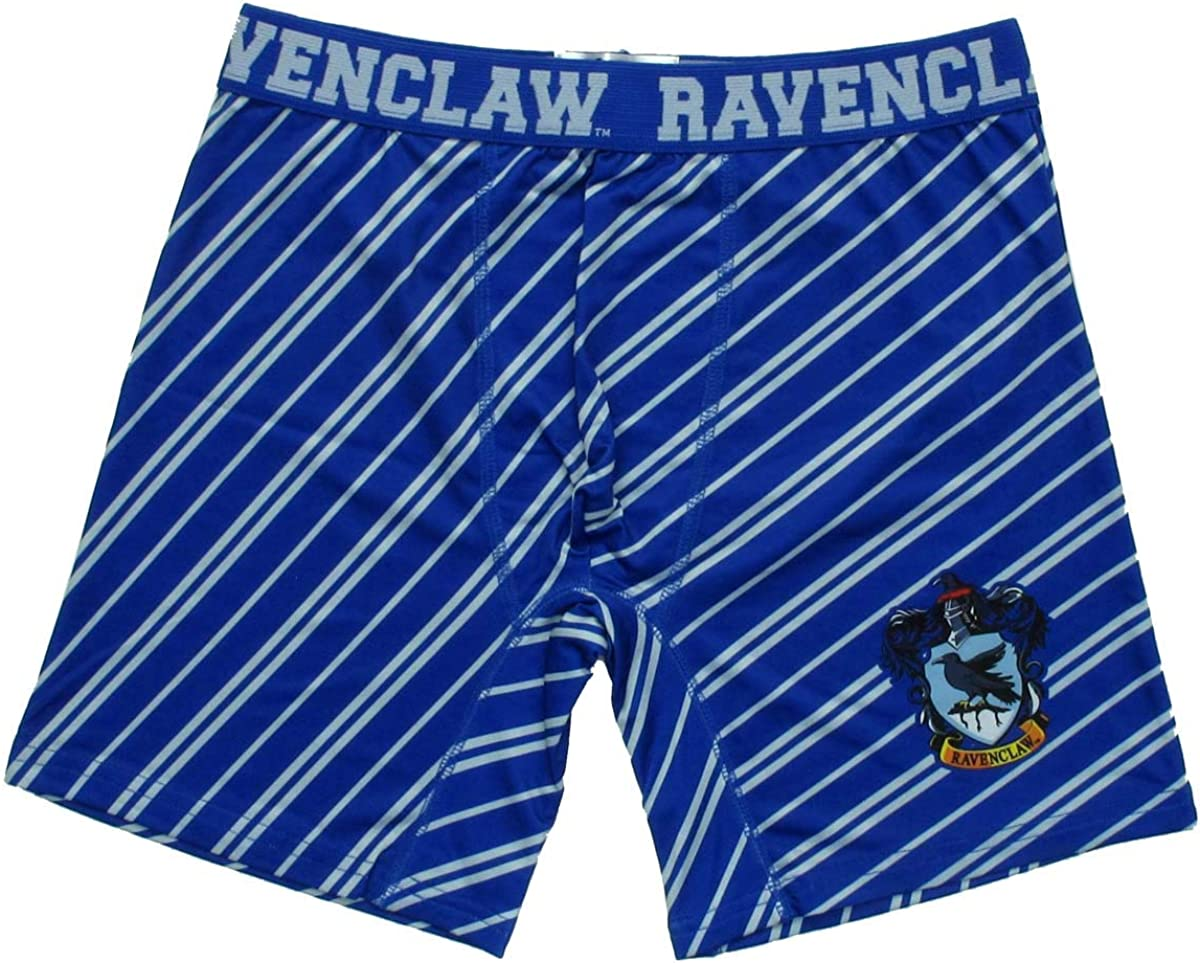 Harry Potter Ravenclaw House Boxer Briefs with Striped Print