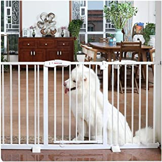 Pet Isolation Fence Child Safety Door Fence Baby Gates for Stairs Guardrail Free Punching Dual Lock Self Closing