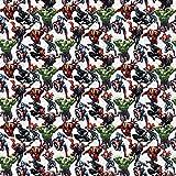 Marvel Stoff – 0,5 Meter 50 cm x 110 cm –