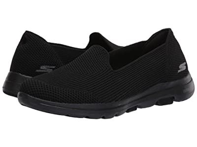 SKECHERS Performance Go Walk 5 Blessed (Black) Women