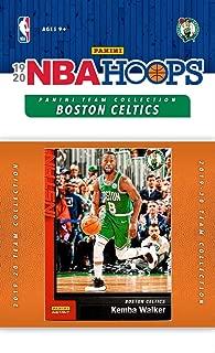 Boston Celtics 2019 2020 Hoops Basketball Factory Sealed 10 Card Team Set with Kemba Walker, Gordon Hayward and Jayson Tatum Plus