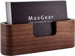 executive desktop business card holder