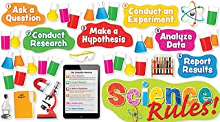 Scholastic Classroom Resources Science Rules! Bulletin Board (SC581920)