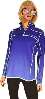 Vineyard Vines Women's Performance Ombre Shep Shirt 1/4 Zip