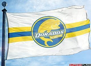 Dorados Sinaloa Flag Banner 3x5 ft Mexico Futbol Soccer Bandera