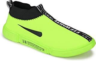 Camfoot-9218 Green Exclusive Range of Sports Running Shoes for Men
