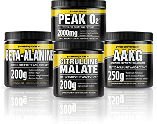 PrimaForce Pre-Workout Supplement Bundle – with PeakO2 – Enhances Strength Performance/Reduces Fatigue/Improves Muscle Rec...