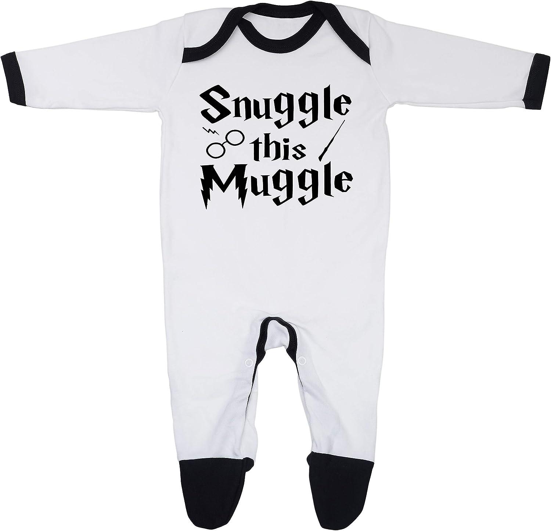 100 /% algod/ón peinado Snuggle this Muggle Pijama para beb/é