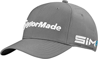 TaylorMade Men's Tour Radar Golf Cap, Charcoal, One Size