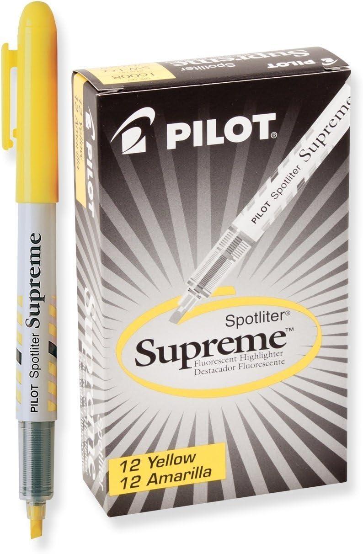 PIL16008 - Wholesale Pilot Spotliter Supreme supreme Items Total 12 Highlighter;