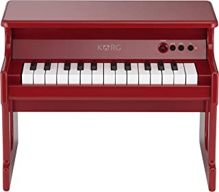 KORG tinyPIANO タイニーピアノ ミニ鍵盤25鍵 レッド 自動演奏デモソングを50曲内蔵