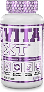 Vita-XT Multivitamin for Women - Womens Daily Multivitamin with Vitamin A, B6, B12, C, D, E, Iron, and Glutathione for Imm...