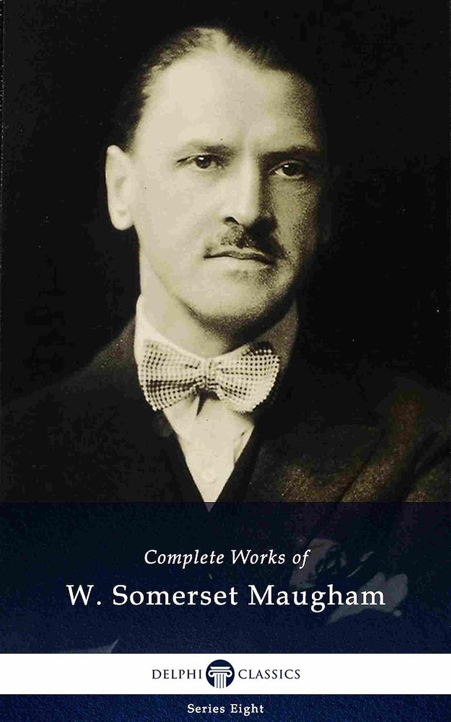 デモンストレーション滑る縮約Delphi Complete Works of W. Somerset Maugham (Illustrated) (Delphi Series Eight Book 5) (English Edition)