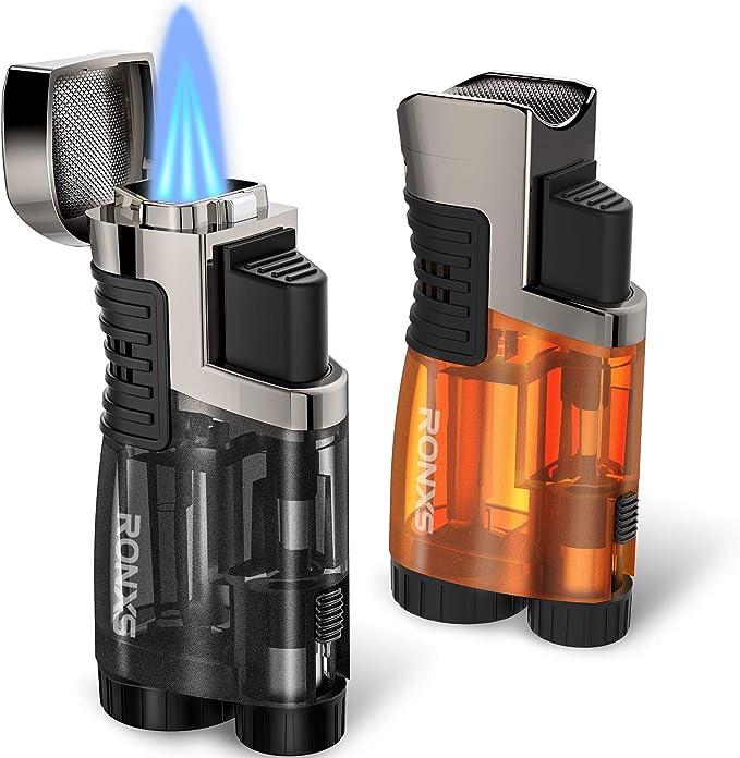 RONX 2 Pack Jet Flame Lighter