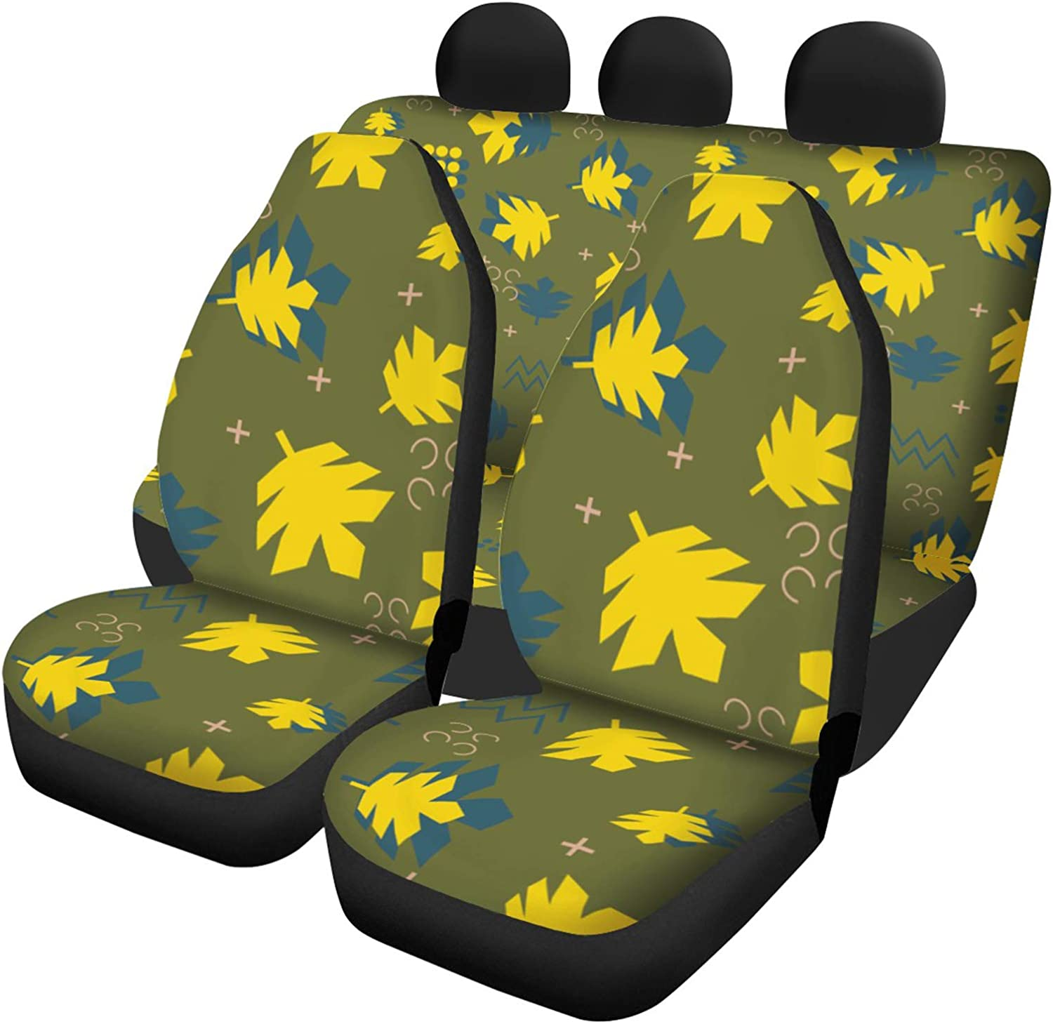 Car Seat Covers Bombing free shipping 5 Full Set Fit Popular brand C fit Universal Comfort Most