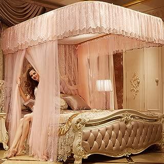 Rose Cartoon moustiquaires, Ciel de lit lit rideaux-A Twin2