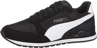 Puma Kadın ST Runner v2 Mesh Spor Ayakkabı, Black/White (Çok Renkli)