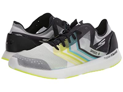 SKECHERS Go Meb Speed 6 (White/Lime) Shoes