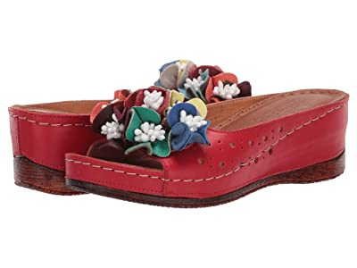 Spring Step Flowerchild (Red) Women