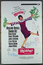 Rosie! (1967) Original Universal Pictures One Sheet Movie Poster 27x41 Folded Fine Plus to Very Fine ROSALIND RUSSELL SANDRA DEE BRIAN AHERNE AUDREY MEADOWS Film Directed by DAVID LOWELL RICH PLEASE NOTE THIS IS NOT A DVD IT'S A POSTER
