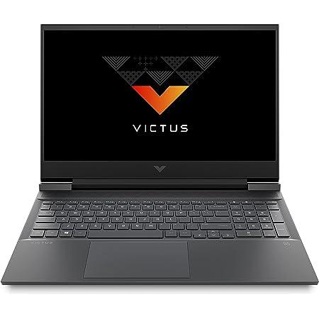 Victus by HP Ryzen 7 5800H 16.1-inch(40.9 cm) FHD Gaming Laptop (16GB RAM/512GB SSD/4GB RTX 3050Ti Graphics/Flicker Free Display/144Hz/Win 10/MS Office/Mica Silver/2.48 Kg), 16-e0078AX, Black
