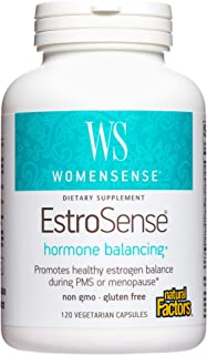WomenSense EstroSense by Natural Factors, Natural Supplement to Support Estrogen and Hormone Balance During PMS or Menopau...
