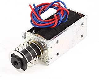 TAKAHA Push Pull Solenoid DC 12v Stroke 35mm Force 400g Duty Cycle 50/% CH12840062 Made in Japan