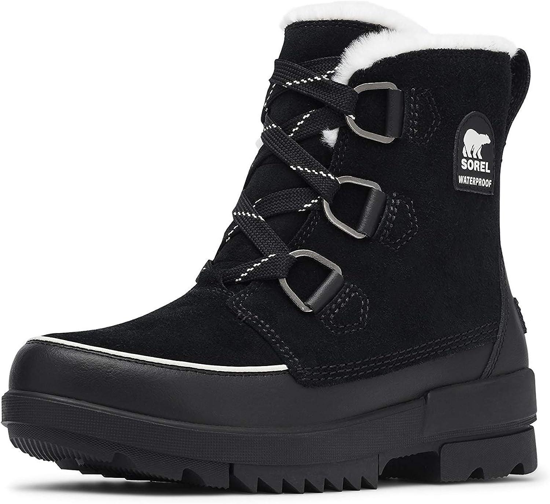 SOREL Women's Tivoli IV Boot — Black — Waterproof Winter Boots — Size 12