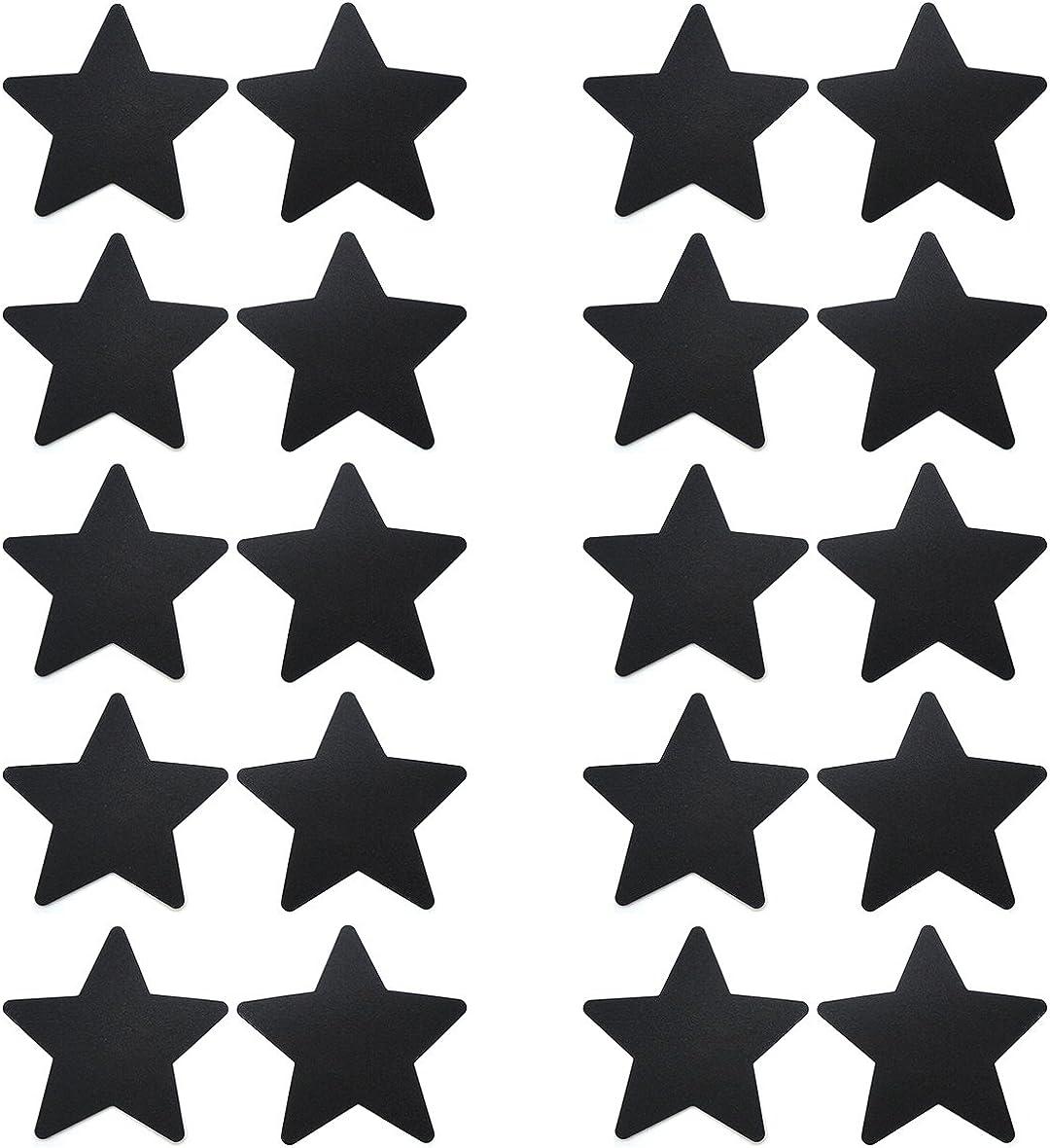 Popular 10 Pairs Black Star Pasties Cover Set Peta Nipple Quantity limited Breast
