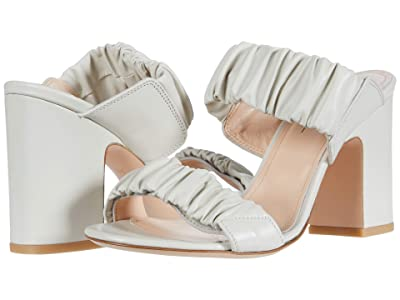 AGL Ruffle Sandal (Off-White) Women