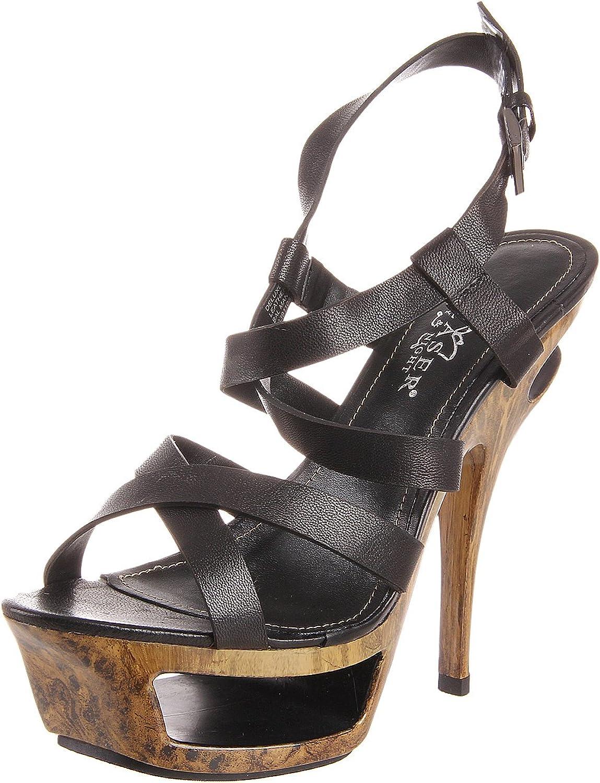 Pleaser Women's Deluxe-636 BLE Platform Sandal