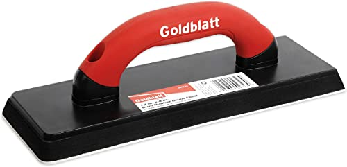 """popular Goldblatt discount 12"""" by 4-inch Gum online Rubber Float with Soft Handle - G02723 outlet online sale"""