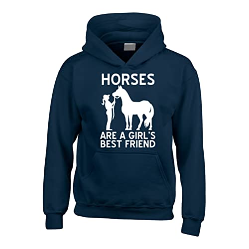 690e2e15a1 Edward Sinclair Horses are a Girls Best Friend Funny Horsey Riding Hoodie