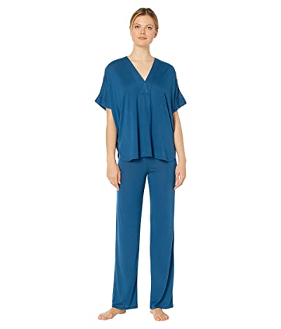 N by Natori Congo PJ Set (Sea Blue) Women