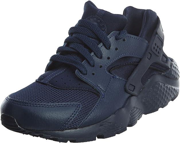 Nike Huarache Run GS 654275-403, Baskets Mixte Enfant