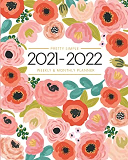 2020-2021 Planner - Academic Weekly & Monthly Planner: July 2020 to June 2021 - To Do List, Goals, and Agenda for School, ...