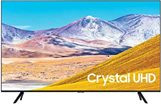 "SAMSUNG UN65TU8000 65"" 4K Ultra HD Smart LED TV (2020 Model) Bundle with Premiere Movies Streaming 2020 + 30-70 Inch TV Wa..."