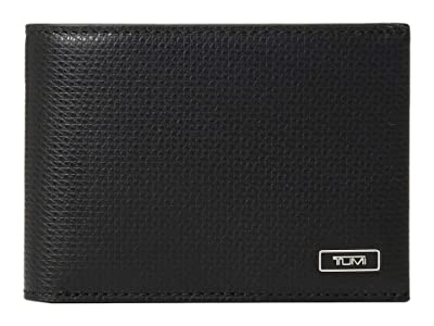 Tumi Monaco Slim Single Billfold (Black) Bill-fold Wallet