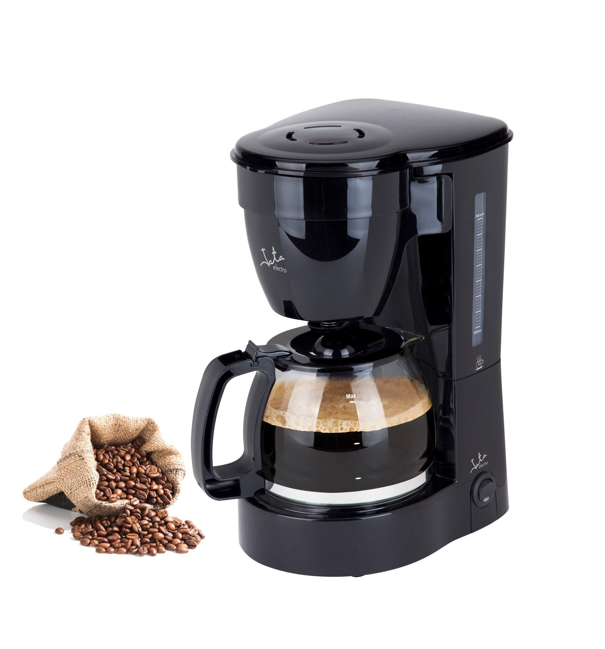 Jata Cafetera de goteo CA289 - De 2 a 10 tazas, Filtro permanente, Antigoteo, Jarra con tapa, Filtro suspendido,: Amazon.es: Hogar