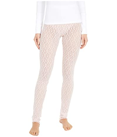 Free People Layered in Lace Leggings (Blush) Women